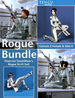 Rogue Poses for Aiko 6 and Genesis 2 Female(s)