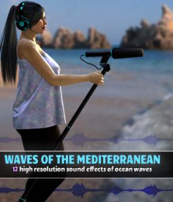 Waves of the Mediterranean- Extended License