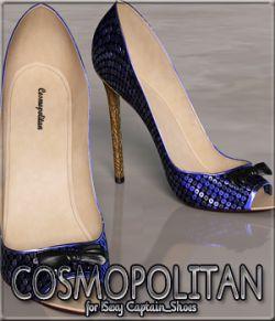 COSMOPOLITAN - !Sexy Captain_Shoes