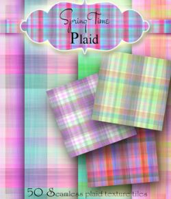 Merchant Resource- SpringTime Plaid