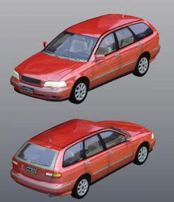 Volvo V40 2000 (for Poser)