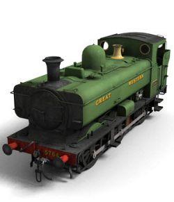 GWR Pannier Tank Engine