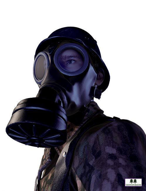 how to make a gas mask prop
