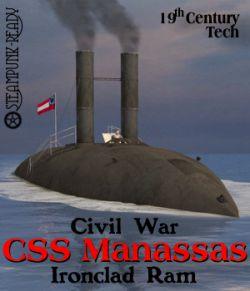 CSS Manassas Ironclad Ram