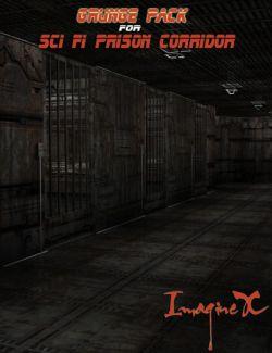Grunge Pack for Sci Fi Prison Corridor