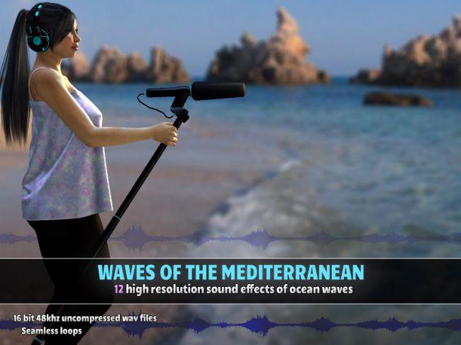 Waves of the Mediterranean