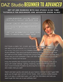 DAZ Studio Beginner to Advanced