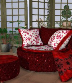 DA-Little Romance for The Cuddler Chair Set by Lully