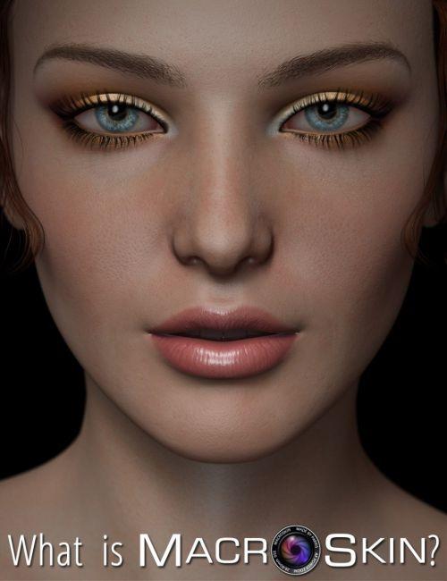 Macro Skin for Genesis and Genesis 2 Female(s)