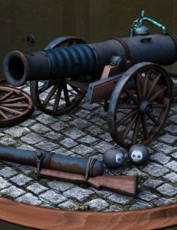 Muelsfell Warmachine Cannons