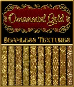 Ornamental Golds Seamless Texture Pack