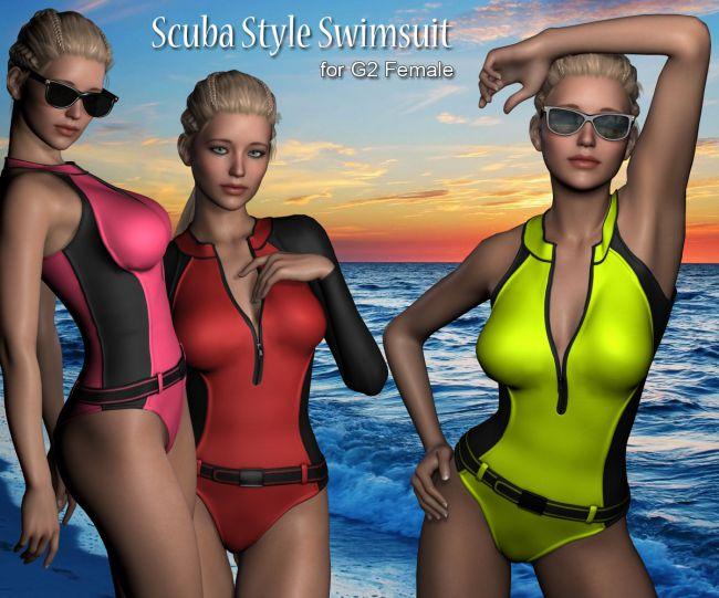 G2 Scuba Swimsuit