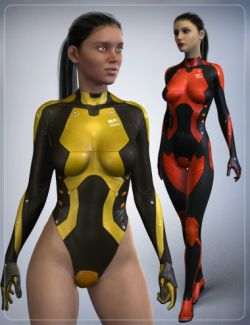Sci-Fi Body Suit SF-001