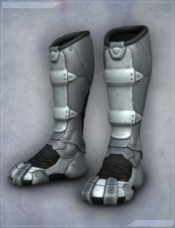 Sci Fi Boots for Genesis 2 Female(s)