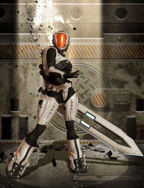 Mech Gear for Genesis 2 Female(s)
