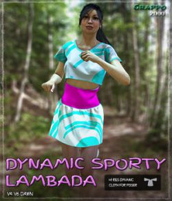 Dynamic Sporty Lambada Outfit