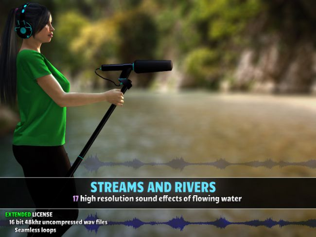 Streams and Rivers - Extended License