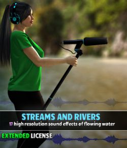 Streams and Rivers- Extended License