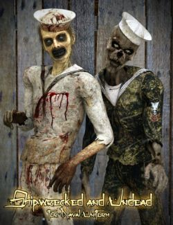 Shipwrecked and Undead for Naval Uniform