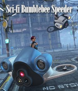 Sci-fi Bumblebee Speeder
