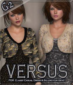 VERSUS - Classy Casual Dress & Bolero for Gen2