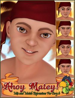 Ahoy Matey Mix And Match Expressions for Cory 6