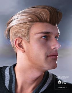 Jake Hair for Genesis 2 Male(s)