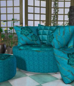 DA-Little Romance 2 for The Cuddler Chair Set by Lully