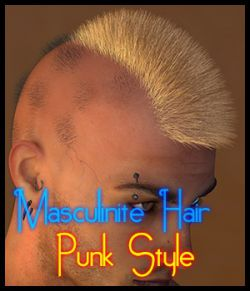 Masculinite Hair : Punk Styles