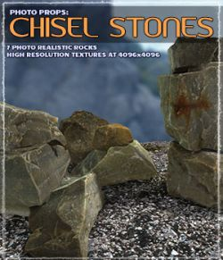 Photo Props: Chisel Stones