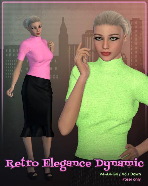 Retro Elegance Dynamic