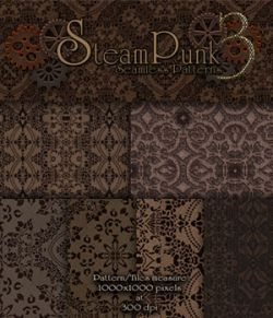 Merchant Resource - Steampunk Patterns 3