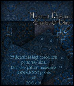 Merchant Resource- Shades of Blue