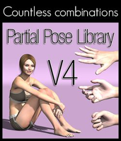 Partial Pose Library V4