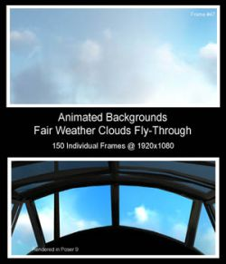 Fair Weather Clouds Fly-Through