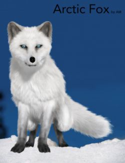 Arctic Fox by AM