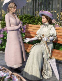 Edwardian Accessories for Genesis 2 Female(s)