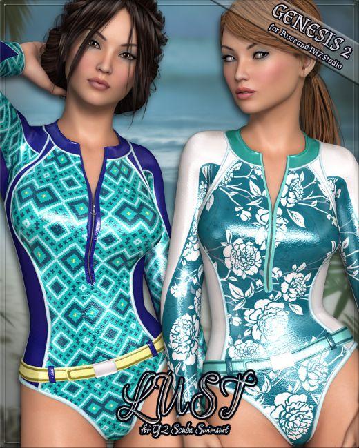 LUST - G2 Scuba Swimsuit