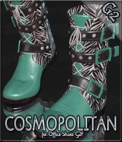 COSMOPOLITAN- G2 Biker Boots