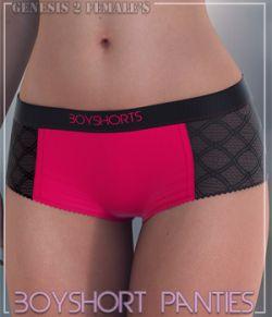 Boyshort Panties for G2F