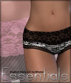 Essentials for Boyshort Panty G2F