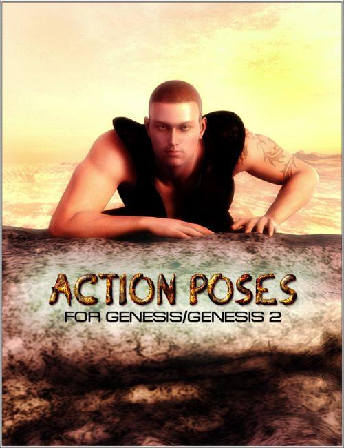 Action Poses for Genesis/Genesis 2