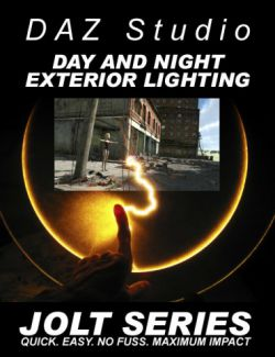 DAZ Studio Day & Night Exterior Lighting - Jolt Series