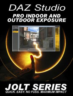DAZ Studio Pro Exposure - Jolt Series
