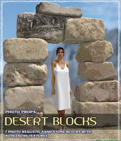 Photo Props: Desert Blocks