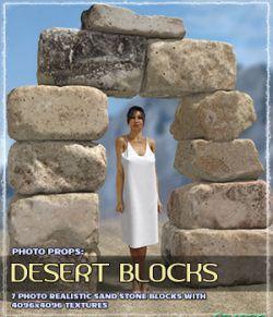 Photo Props: Desert Blocks