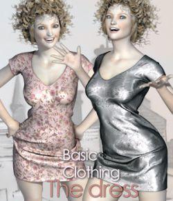 "BasicClothing for V4 ""The Dress"""