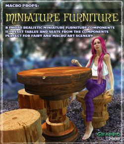 Macro Props: Miniature Furniture