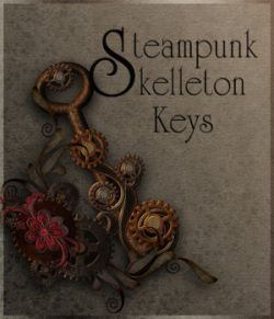 Steampunk Skelleton Keys