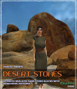 Photo Props: Desert Stones